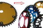 Made to measure special sprockets