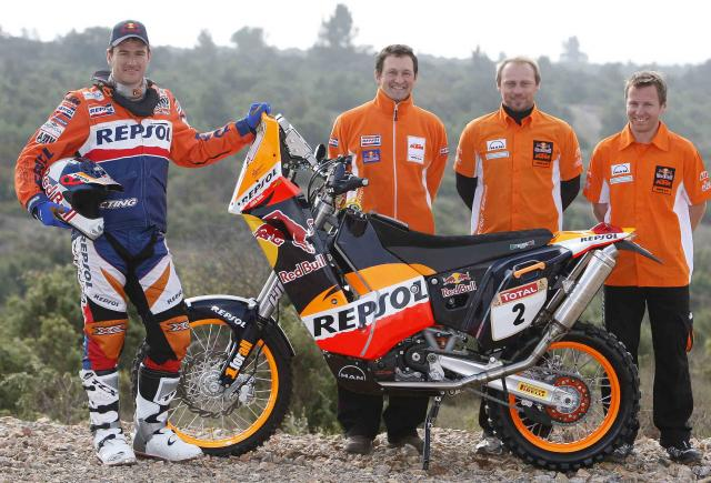 KTM Rally Marc Coma 2009 01